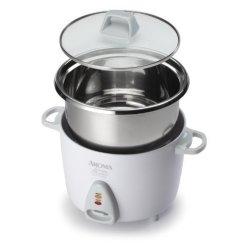 Cuiseurs à riz non toxiques - Cuiseur à riz Aroma Simply en acier inoxydable