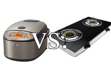 cuiseur à riz vs cuisinière