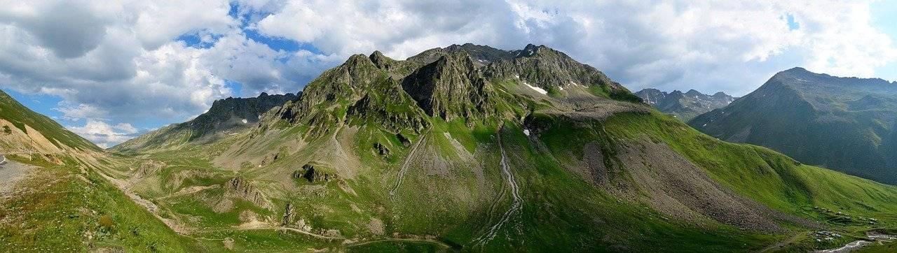 kaçkars, from gateway, mountains