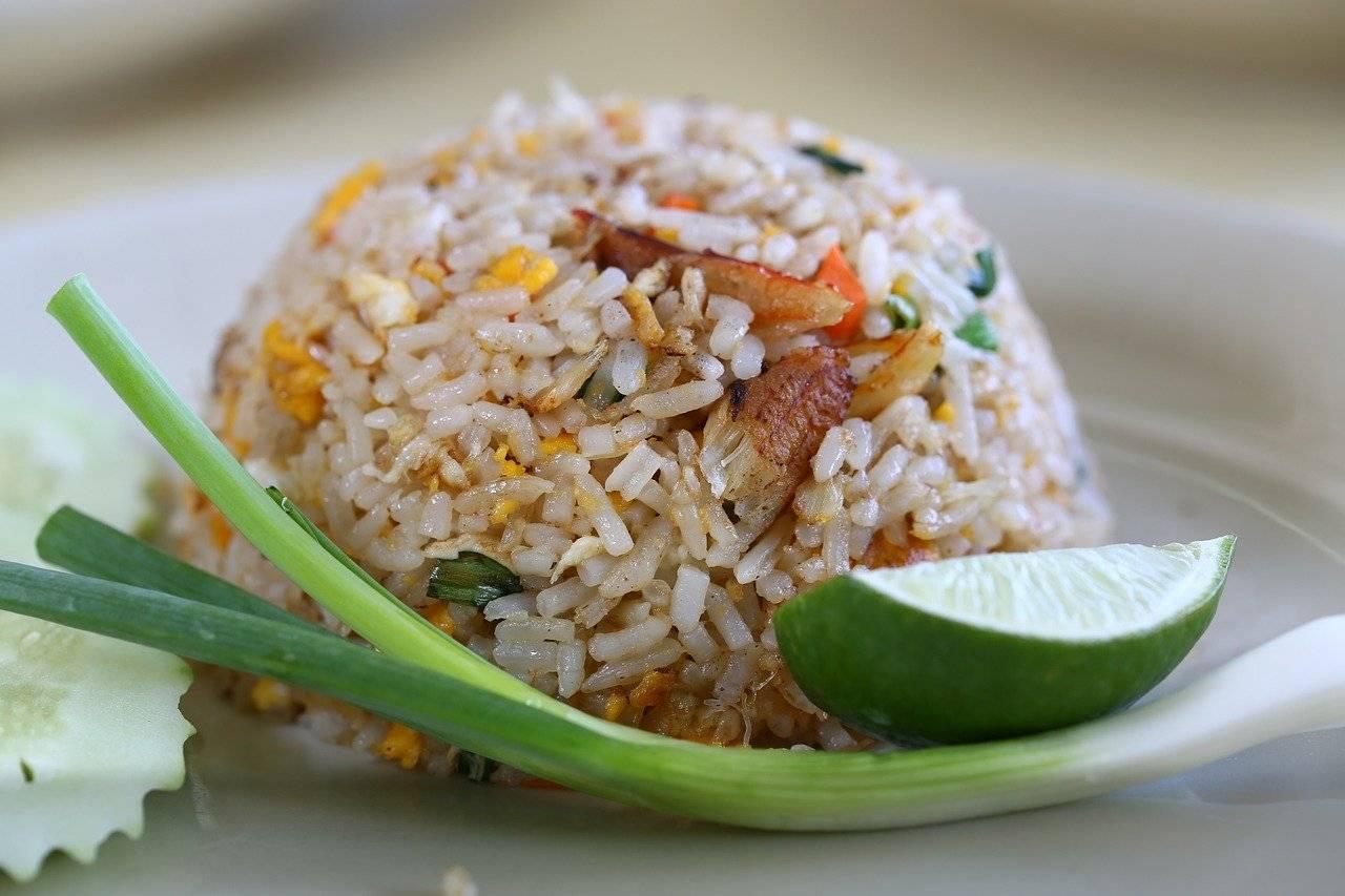 riz frit, cuisine thaïlandaise, la cuisine thai