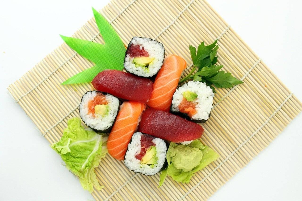 sushi, japonais, délicieux