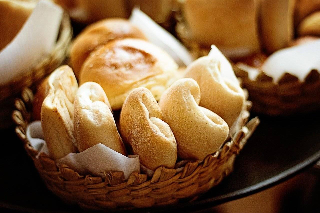 cuit, pain, rouleaux