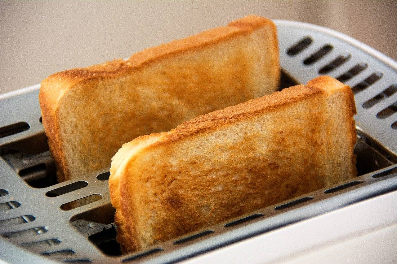 toast, grille-pain, alimentation