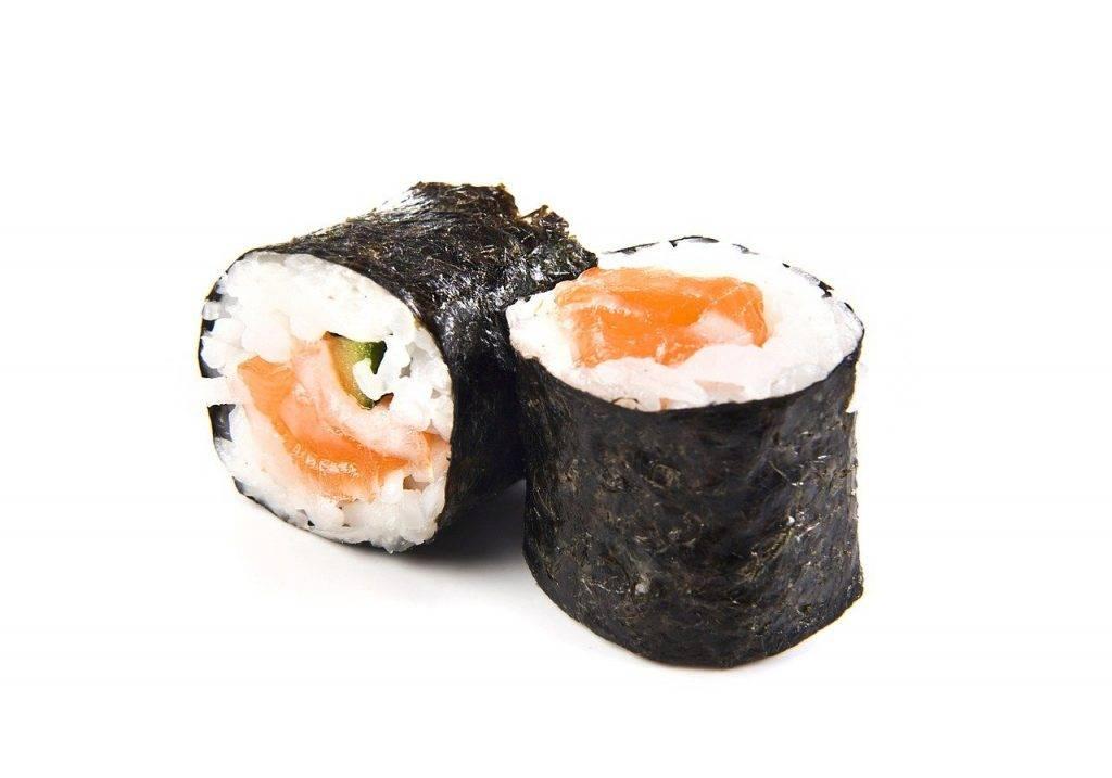 maki, poissons, riz