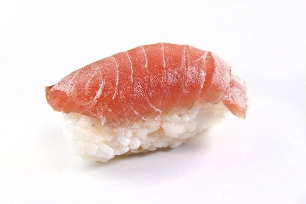 saumon, poissons, nigiri