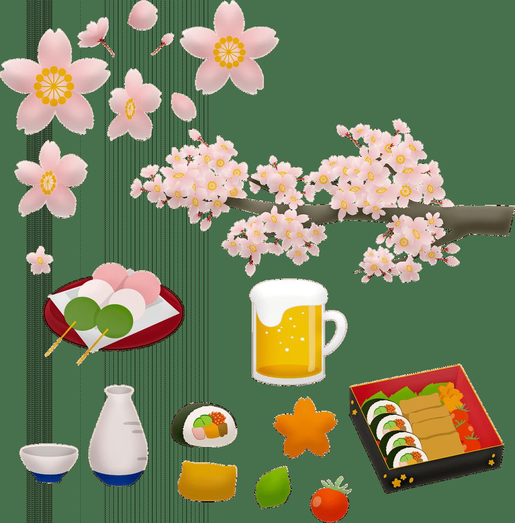 cuisine japonaise, sushi, la bière