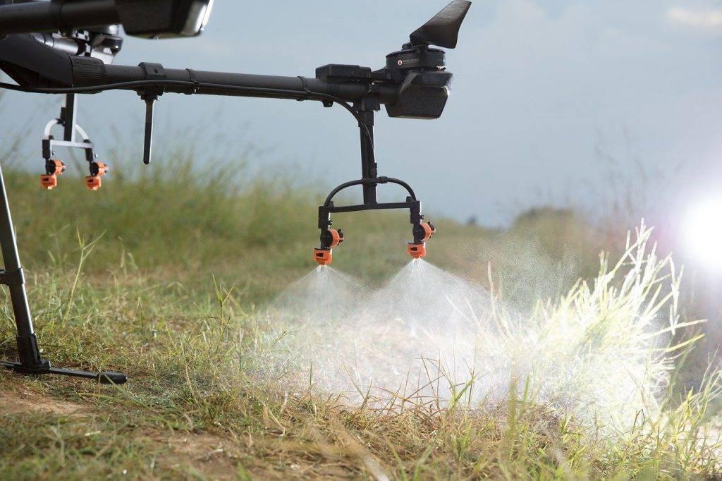 dji, uav, la protection des végétaux drone