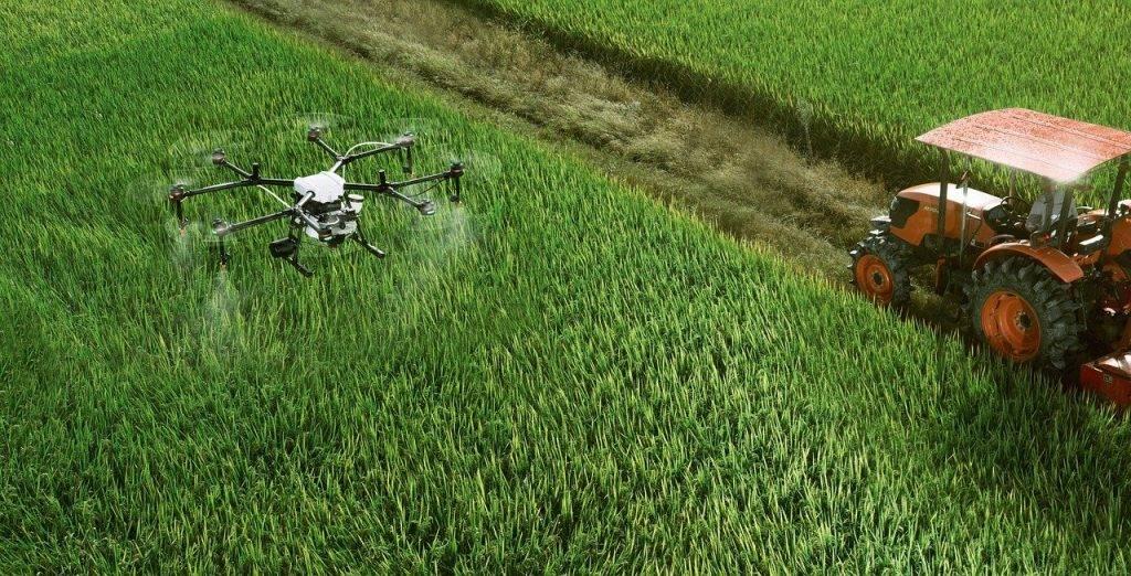 dji, l'agriculture, uav