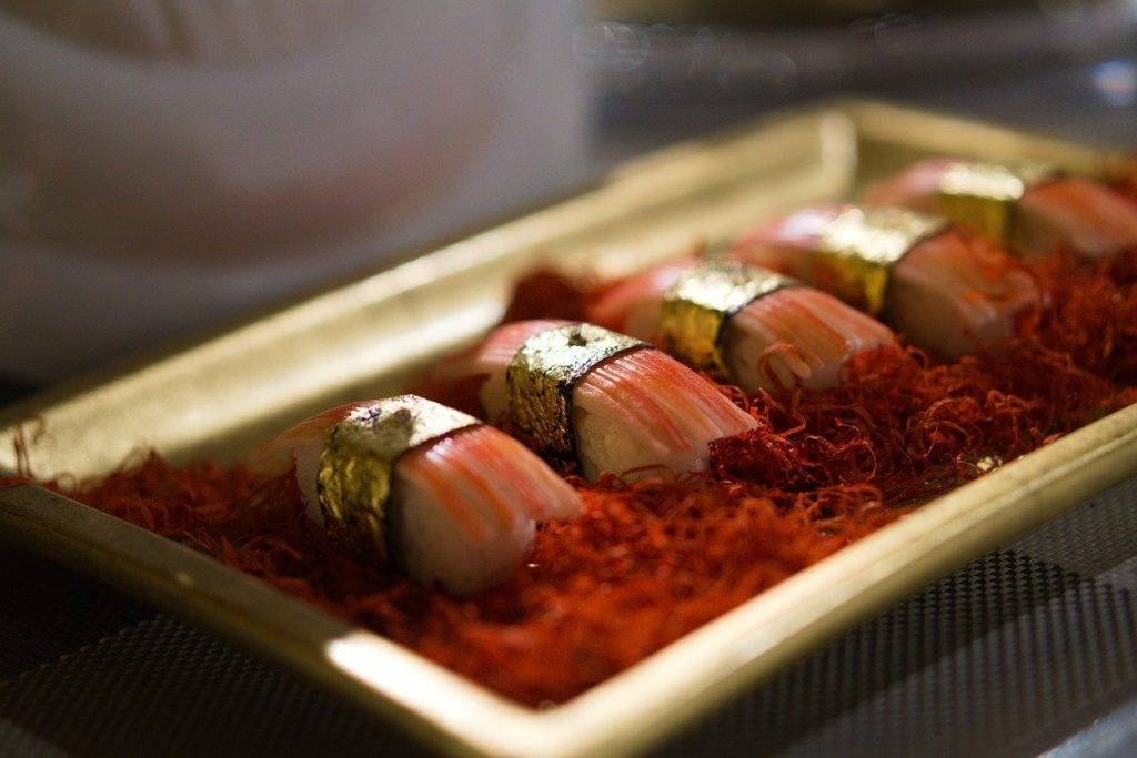 sushi, réplique, alimentaire
