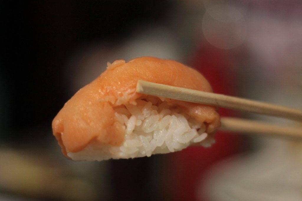 saumon, poissons, riz