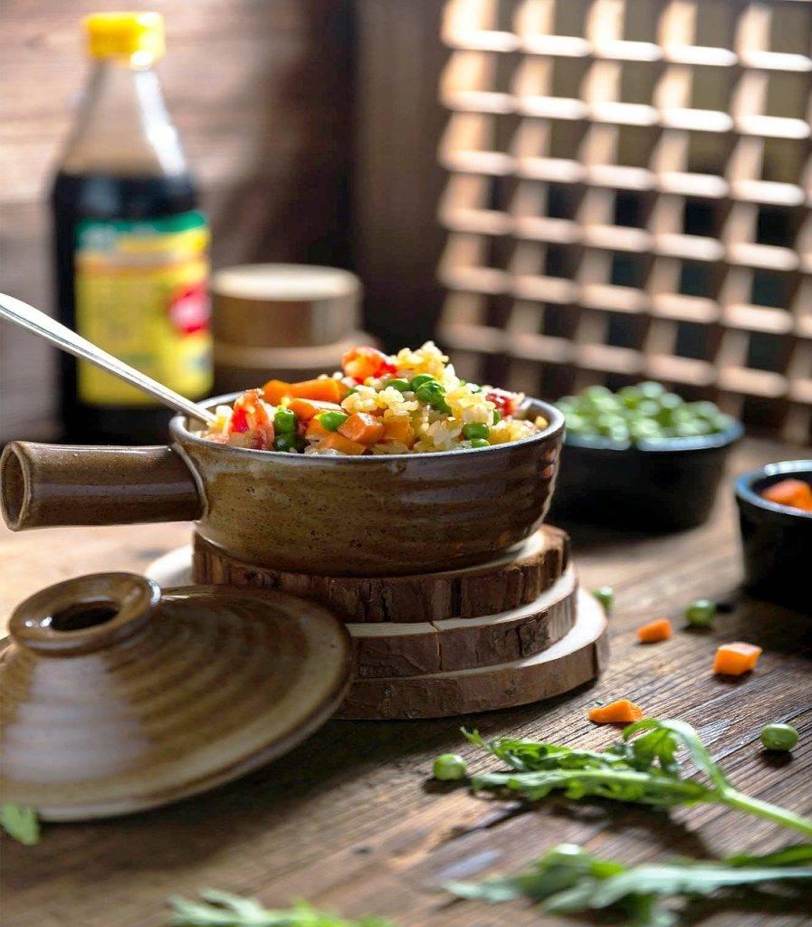 riz frit, cocotte, gourmet