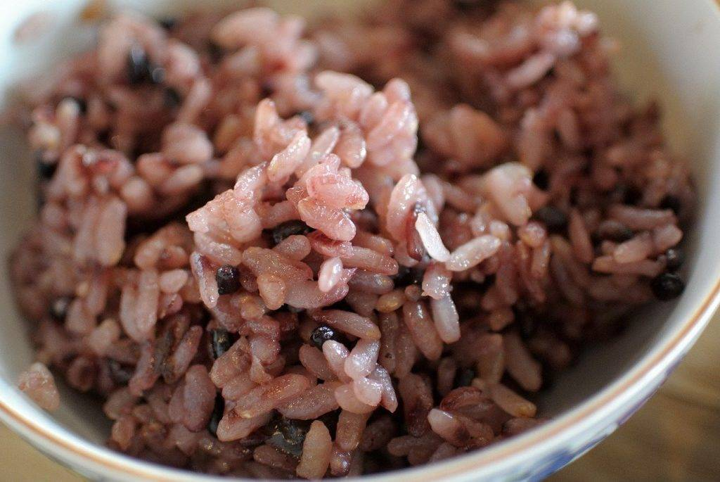 riz, red, alimentaire