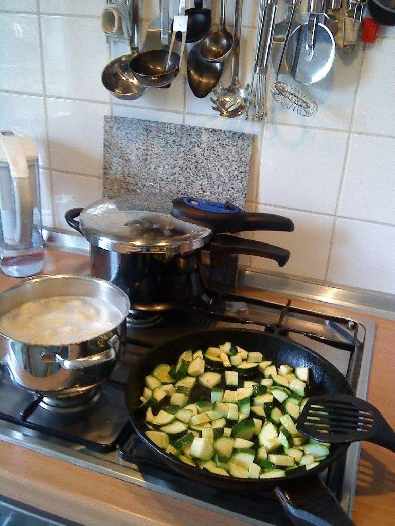 cuisine, faire cuire, cuisinière à gaz