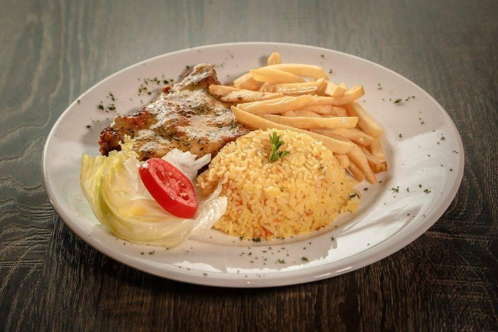 repas, sauce, restaurant