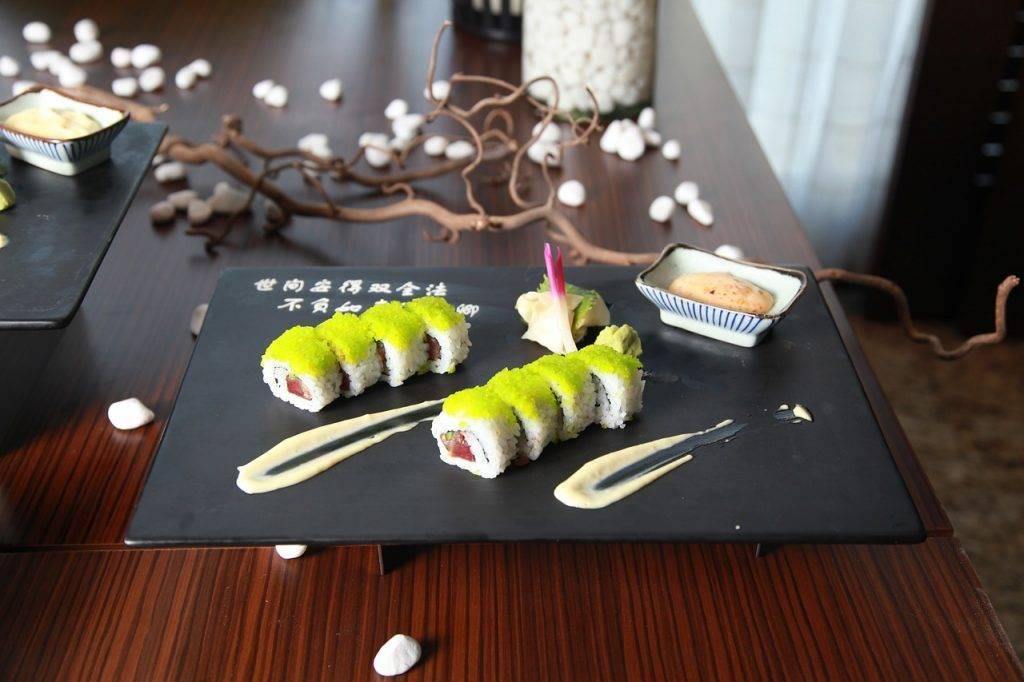 cuisine asiatique, sushi, asie