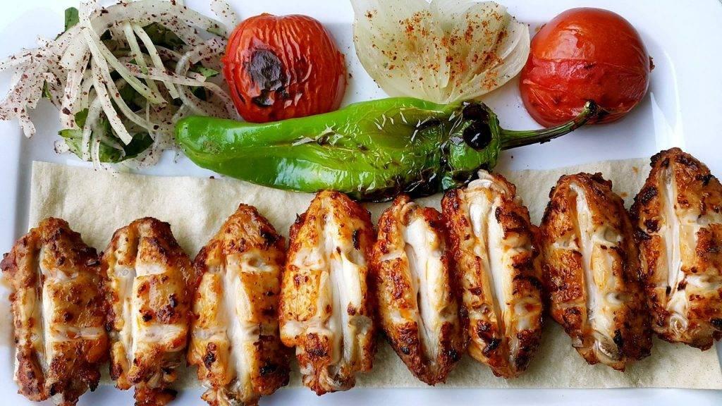 kebab, alimentaire, la cuisine turque
