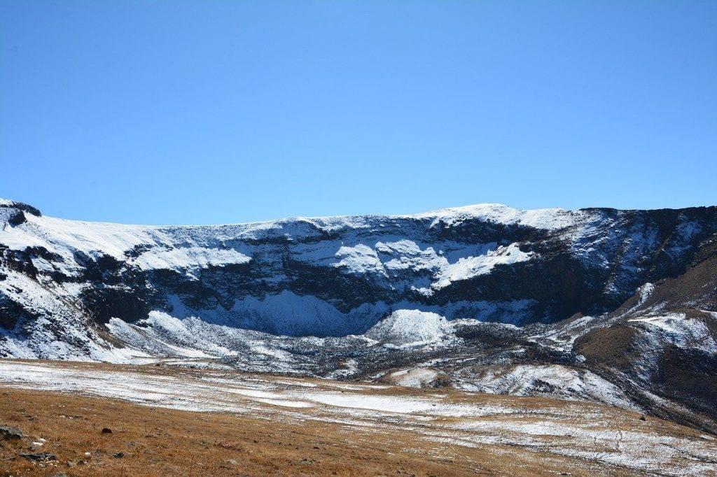 nature, neige, paysage