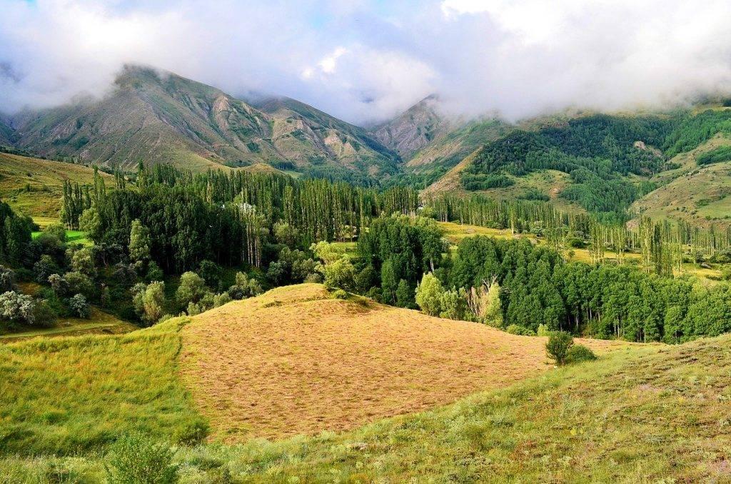 nature, paysage, kaçkars