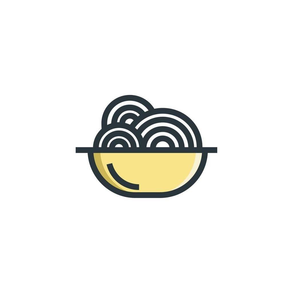 nouille, alimentaire, cuisson