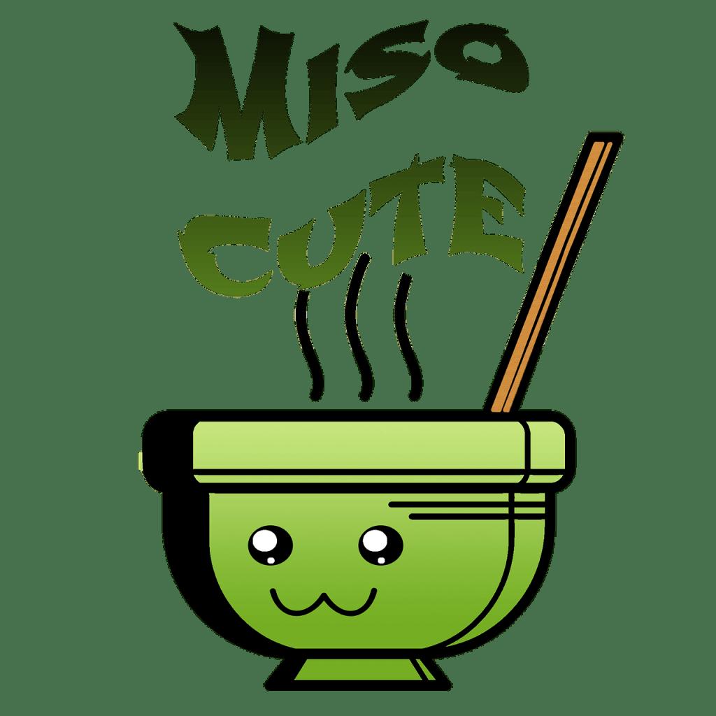 miso, soupe japonaise, kawaii