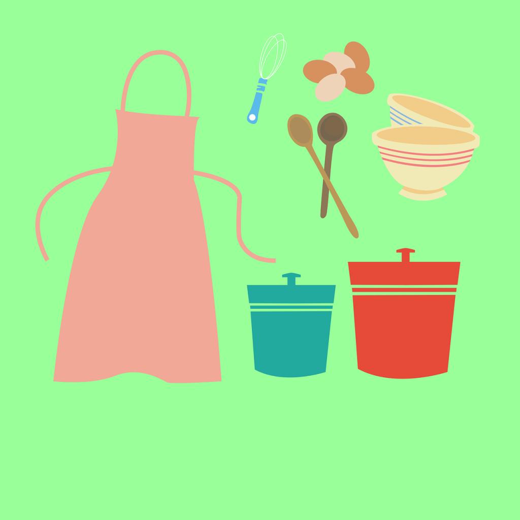 serviettes de table, paniers, cuisine