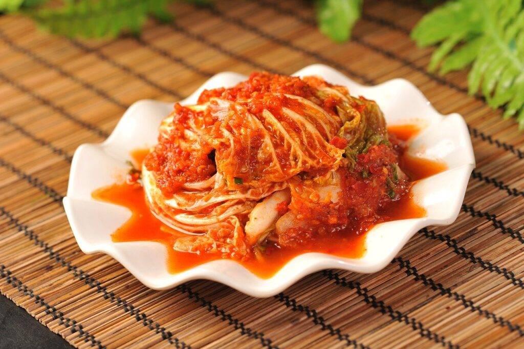 chou coréen en sauce chili, cuisine chinoise du nord-est, sauce piquante