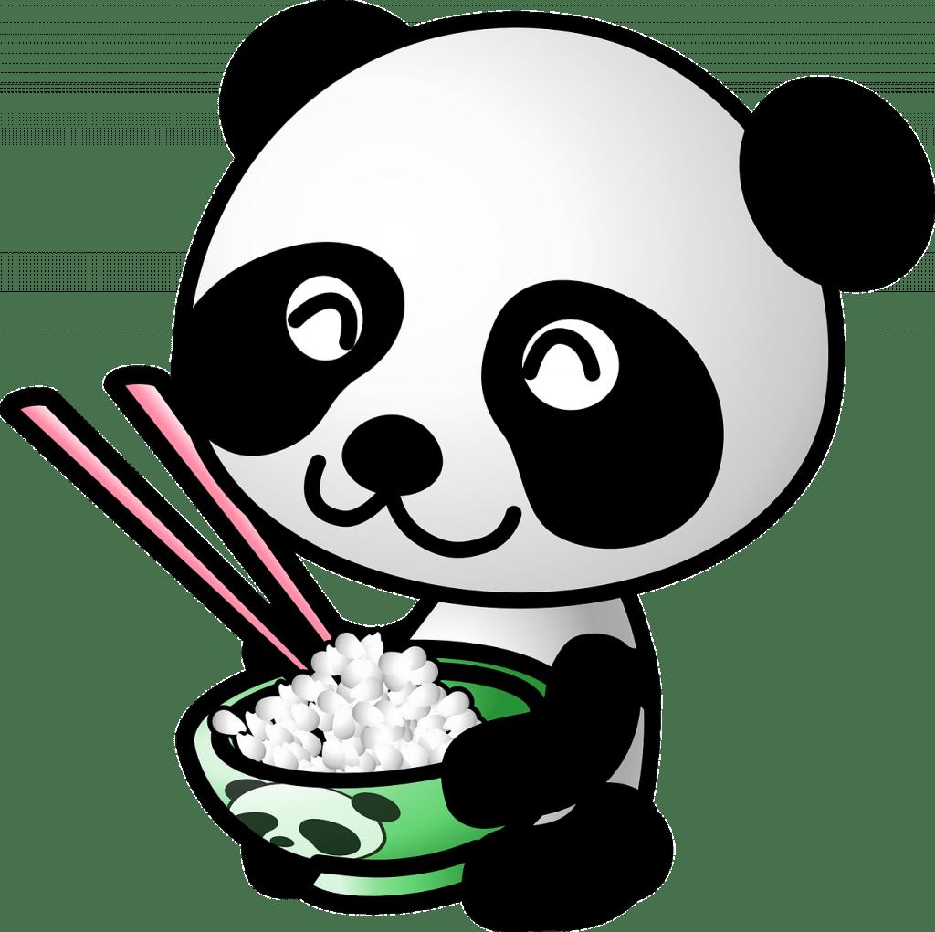 panda, des animaux, régime alimentaire