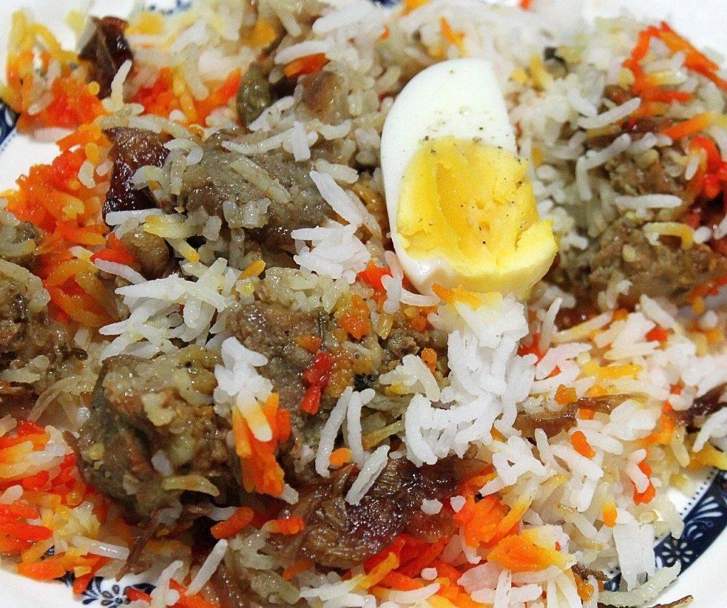 briyani, briyani indien, riz