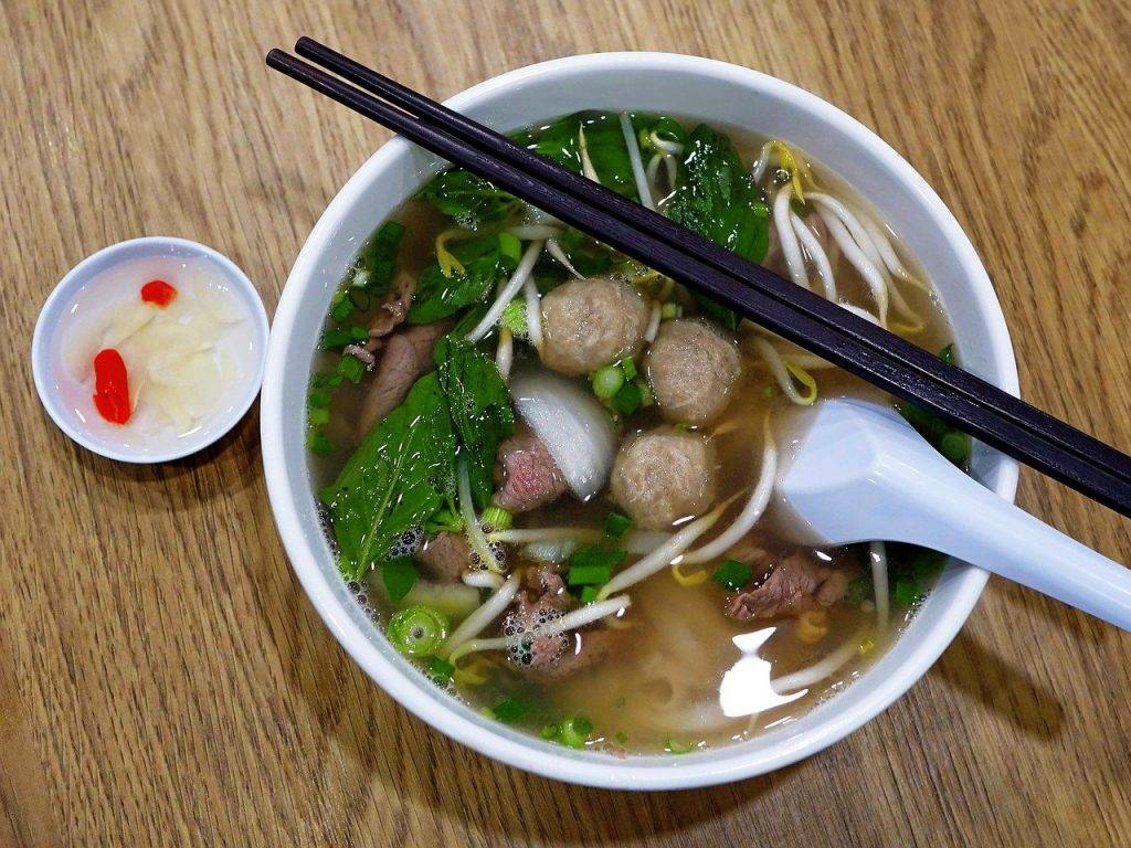 vietnam, nouilles de riz, boeuf