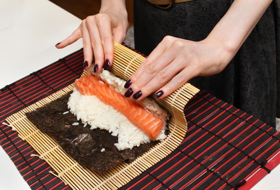 Faire des sushis
