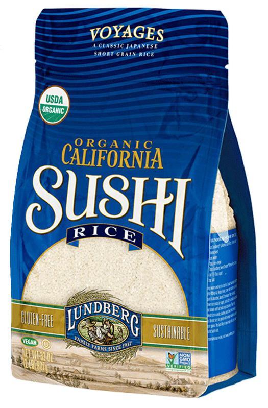 Lundberg Family Farms California Sushi Rice