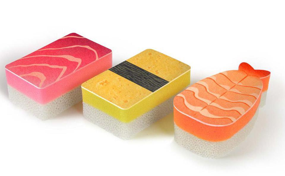 Éponges à sushi Washabi
